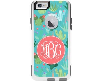Cactus Personalized Custom Otterbox Commuter Case for iPhone 6 and iPhone 6s