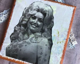 Dolly Parton Wall Hanging Print