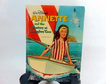 1960s, Annette, Annette Funicello, Disney, Disney Books, Walt Disney, Hardcover Books, Mystery, Mystery Books, Fiction, Mysetry