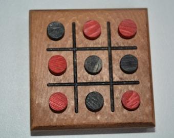 Wood Tic Tac Toe Game