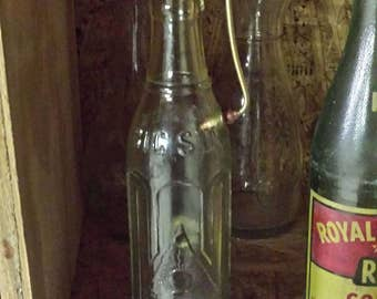1950s Big Sun Bottle Incense Burner