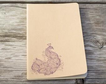 Peacock Journal Notebook