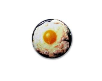1 Inch Pinback Button Original - Fried Egg