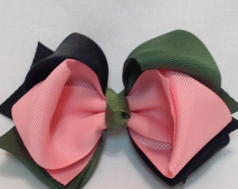 Boutique Hairbows/Stacked Hairbows/Girls Hairbows