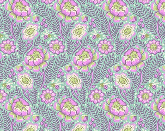 PRESALE - Spirit Animal - Petal Heads in Lunar - Tula Pink for Free Spirit - PWTP103.LUNAR - 1/2 Yard