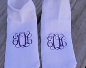 Monogram Socks
