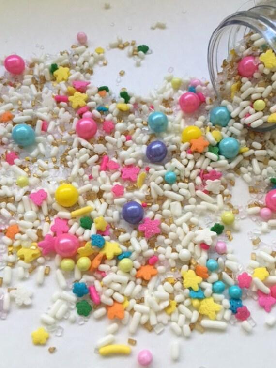 Unicorn Sprinkle Mix ~ Unicorn Sprinkles ~ Cupcake ...