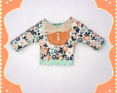 Floral Top for Blythe Doll Mix and Match