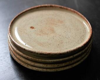 Oatmeal fika/tapas/cookie 4 plate set