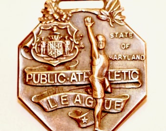 Maryland Public Athletic League Medal or FOB