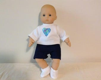 American Girl 15 inch Bitty baby or Bitty twin doll separates. Choose either denim shorts, top or booties
