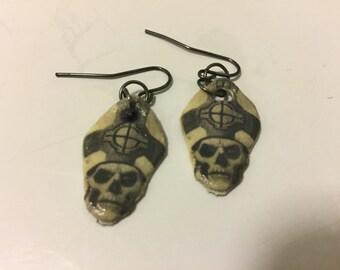 Papa Emeritus II Earrings