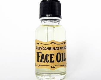 FACE OIL - Oily / Combination Skin - Sandalwood / Frankincense