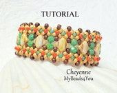 Beading Tutorial and Pattern,Beading Instruction,Seed Bead Pattern,Bead Schemi,DIY Jewelry,Beadwork Tutorial,Silky Bead Patterns,MyBeads4You