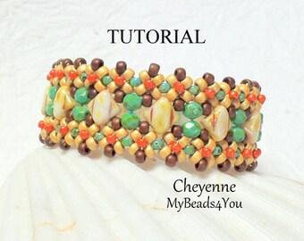 Beading Tutorial Pattern, Beading Instructions, Seed Bead Pattern, Bead Schemi, DIY, Bracelet Tutorial, Silky Beads, Patterns, MyBeads4You
