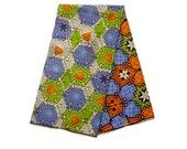 Cotton Ankara Fabric by the Yard - African Designer Print - Ghanaian Dutch Wax - GTP NuStyle