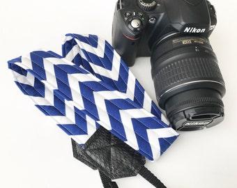 Camera Strap - dslr camera strap - chevron camera strap - camera neck strap