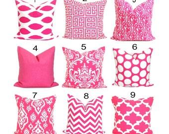 PINK PILLOWS Sale.16x16 inch Decorative Pillow Cover.Pink Pillow Cover.Accent Pillow. Throw Pillow. Couch Pillow, Bedding, Pink Cushion.cm