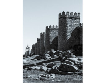 the walls of Ávila — limited edition archival print