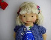 """RESERVED ! Martha   20""""  waldorf doll, art doll OOAK"""