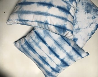Lightweight Denim Indigo Dyed Pillows