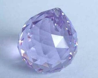 1 SWAROVSKI 8558 Strass Crystal Ball Prism 20mm VIOLET