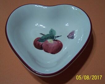 """Pfaltzgraff """" Delicious"""" Heart Dish"""