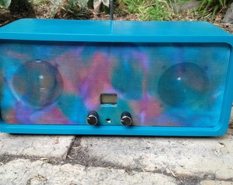Price Drop!! FM Stereo Radio, Retro look hand built