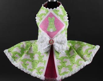 EASTER:  Bunny Love Dog Dress