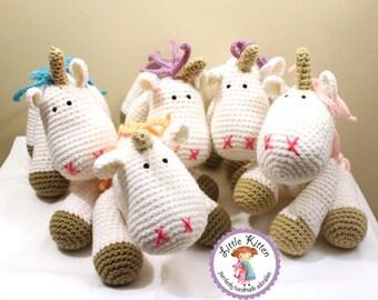 Unicorn Crochet Plush Toy