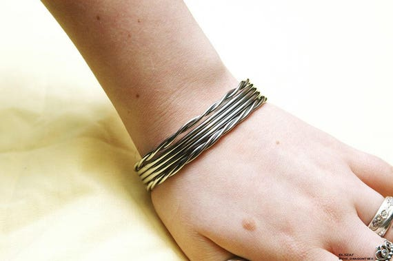 Persephone, stainless steel fashion bracelet, made to order, you pick size