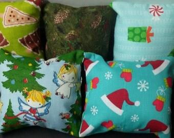 catnip pillow cat toy - Christmas