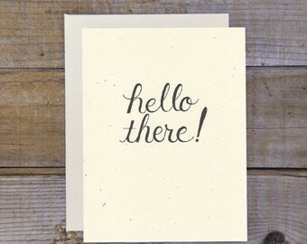 C-1109 Hello There! Card