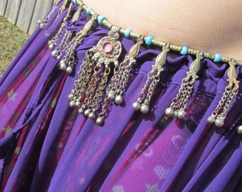 Tribal Belt with Pendants