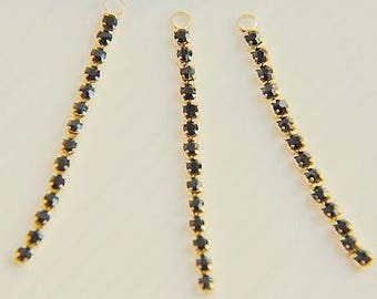 8 pcs  Drill chain Pendant  finding