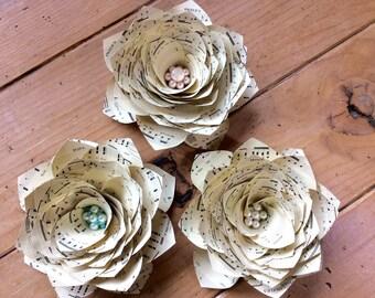 Hamilton, The Schuyler Sisters, Sheet Music Flowers
