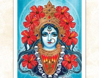 LARGE 'Kali' print