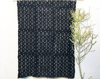 Mud Cloth African Mudcloth Fabric Tribal Pattern Bogolanfini Boho Wall Decorations #19