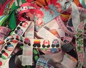 Birthday Sale NEW 1/2 LB Grab Bag- SCRAPS of Ribbon-sewing, scrap booking, hair bows supplies- by Ribbon Lane Supplies on Etsy
