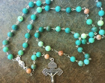 Our Lady of Grace Palm Rosary
