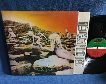 "RARE Vintage, Led Zeppelin - ""Houses Of The Holy"" Vinyl LP Record, Original First Press, RL, Sterling, Bob Ludwig, The Song Remains The Same"