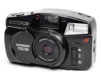 Olympus Superzoom 700XB Vintage 1990s Compact 35mm Retro Film Camera