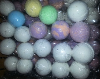Wholesale Bath bombs small, set of fifty bath bombs gift, wedding,  Christmas,  birthday,  spa relaxation gift, bubbling