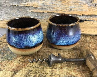 Stemless Pottery Wine Cup / Wine Goblet / Handmade Ceramic Whisky Cup / Tea Cup