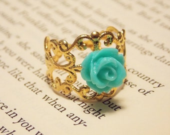 Romantic Rose Ring