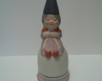 Vintage Treasure Masters Female Gnome Bell