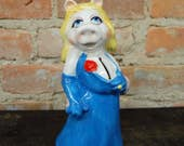 Miss Piggy/ Hensen Muppets Ceramic Bank by Sigma