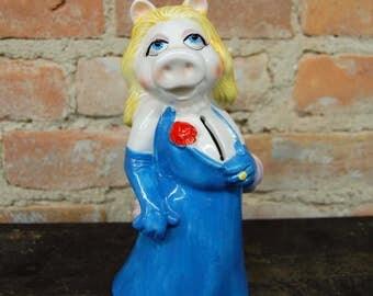 Miss Piggy/ Hensen Muppets Ceramic Bank by Sigma