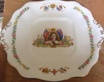 King Edward V111 Coronation Plate 1937