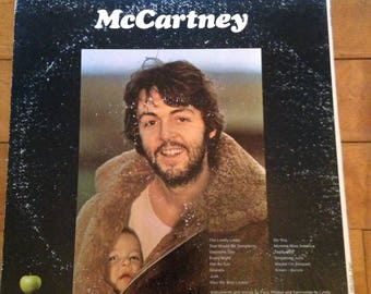 Vintage Paul McCartney Vinyl Album